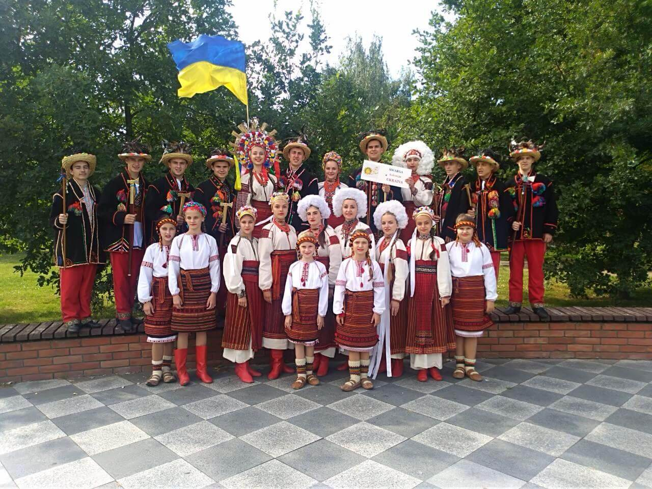 """Народний ансамбль танцю """"Сварга"""" повернувся із Міжнародного фестивалю"""