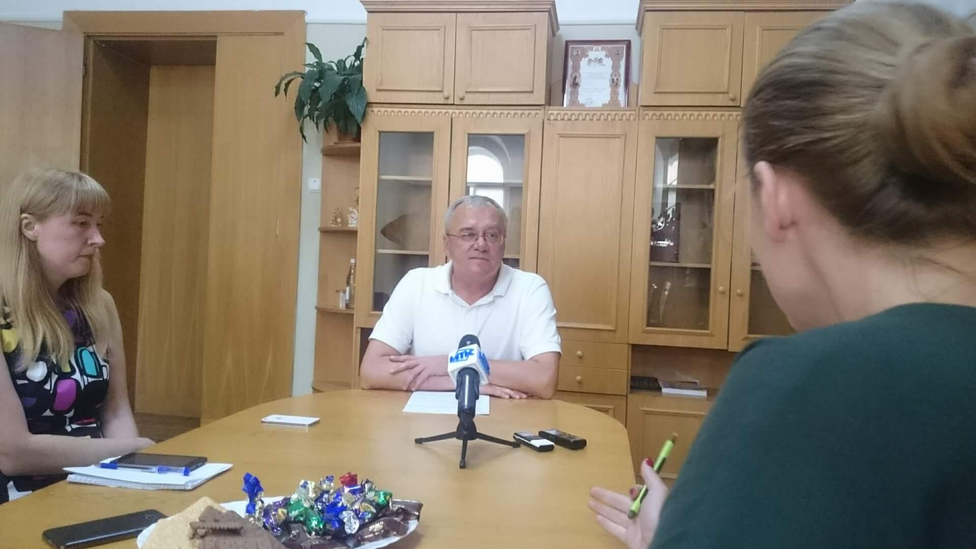 Відбувся брифінг міського голови щодо питань благоустрою міста