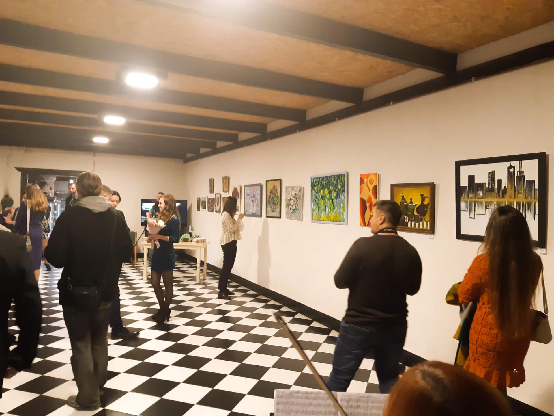 Natali Dk (Наталія Довганюк) презентувала персональну виставку