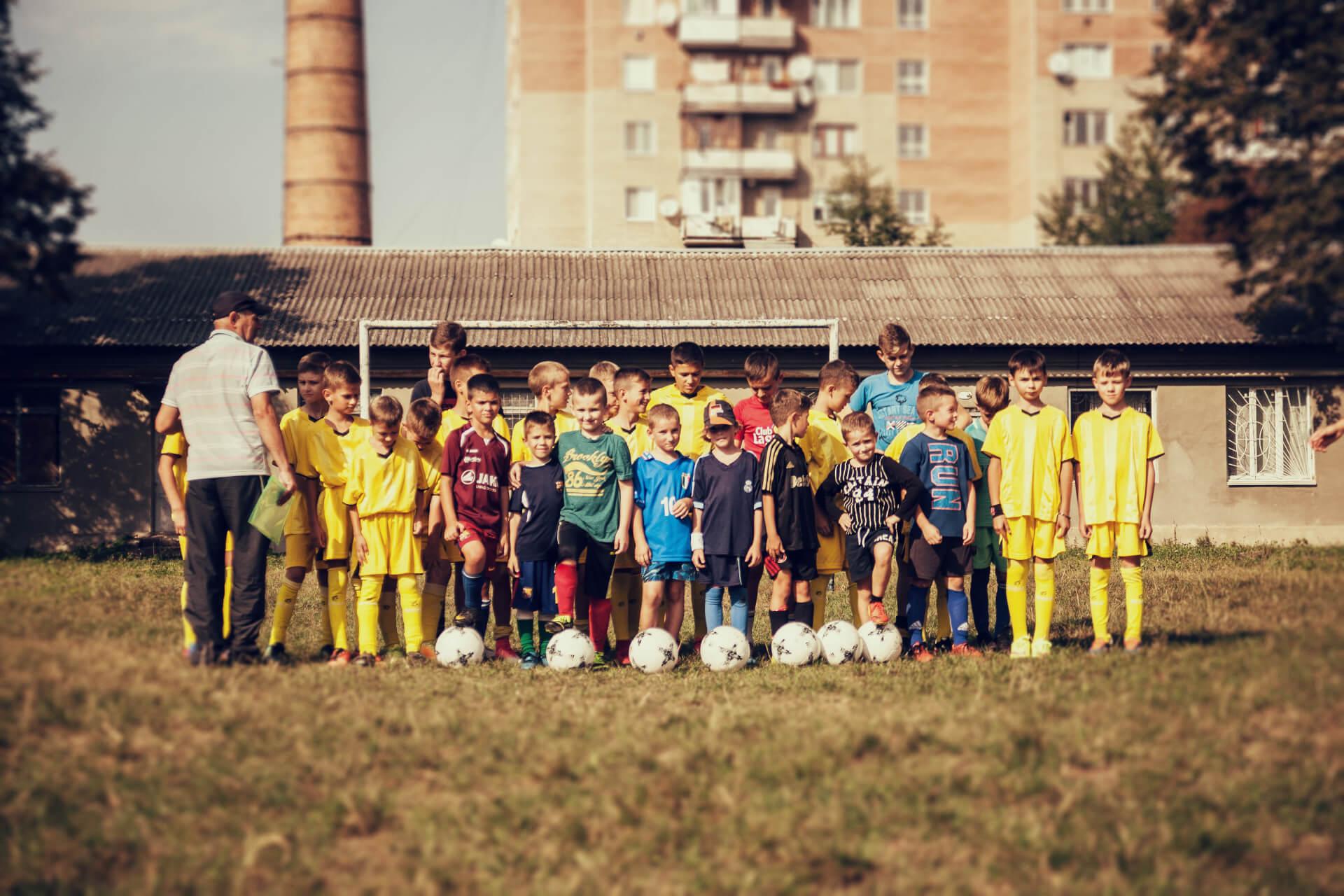 У Коломиї створили футбольний клуб, який готуватиме професійних футболістів