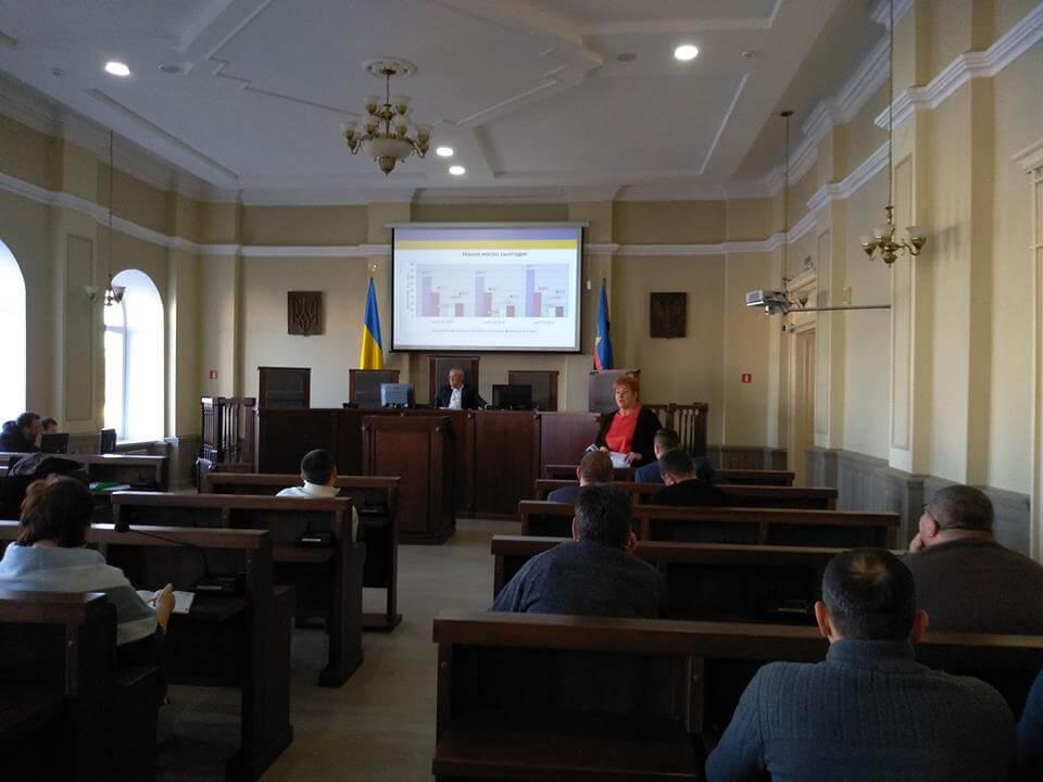 У міській раді з коломиянами обговорювали бюджет на 2019