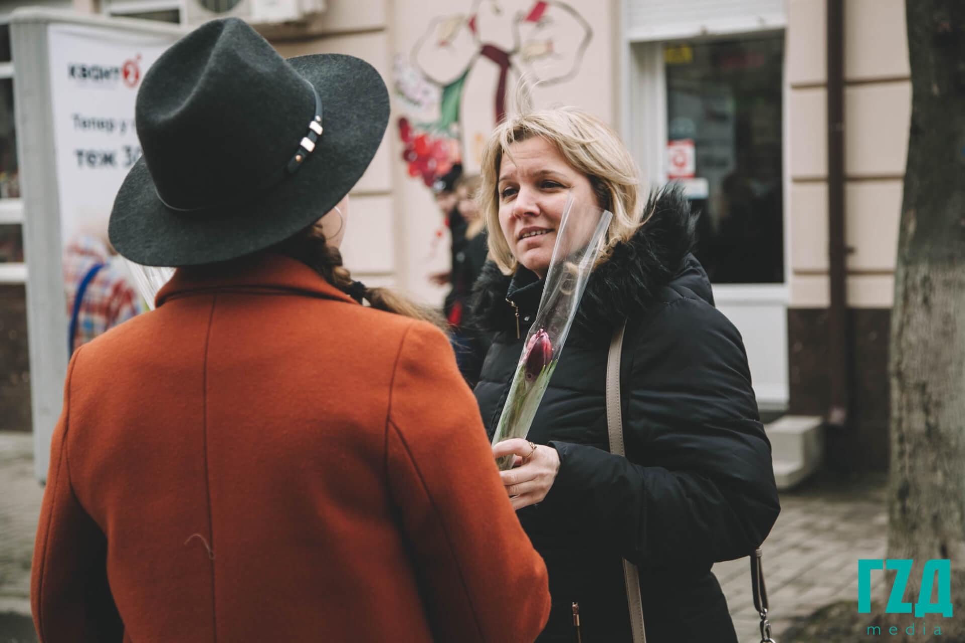 Чи приймають жінки вітання 8 березня