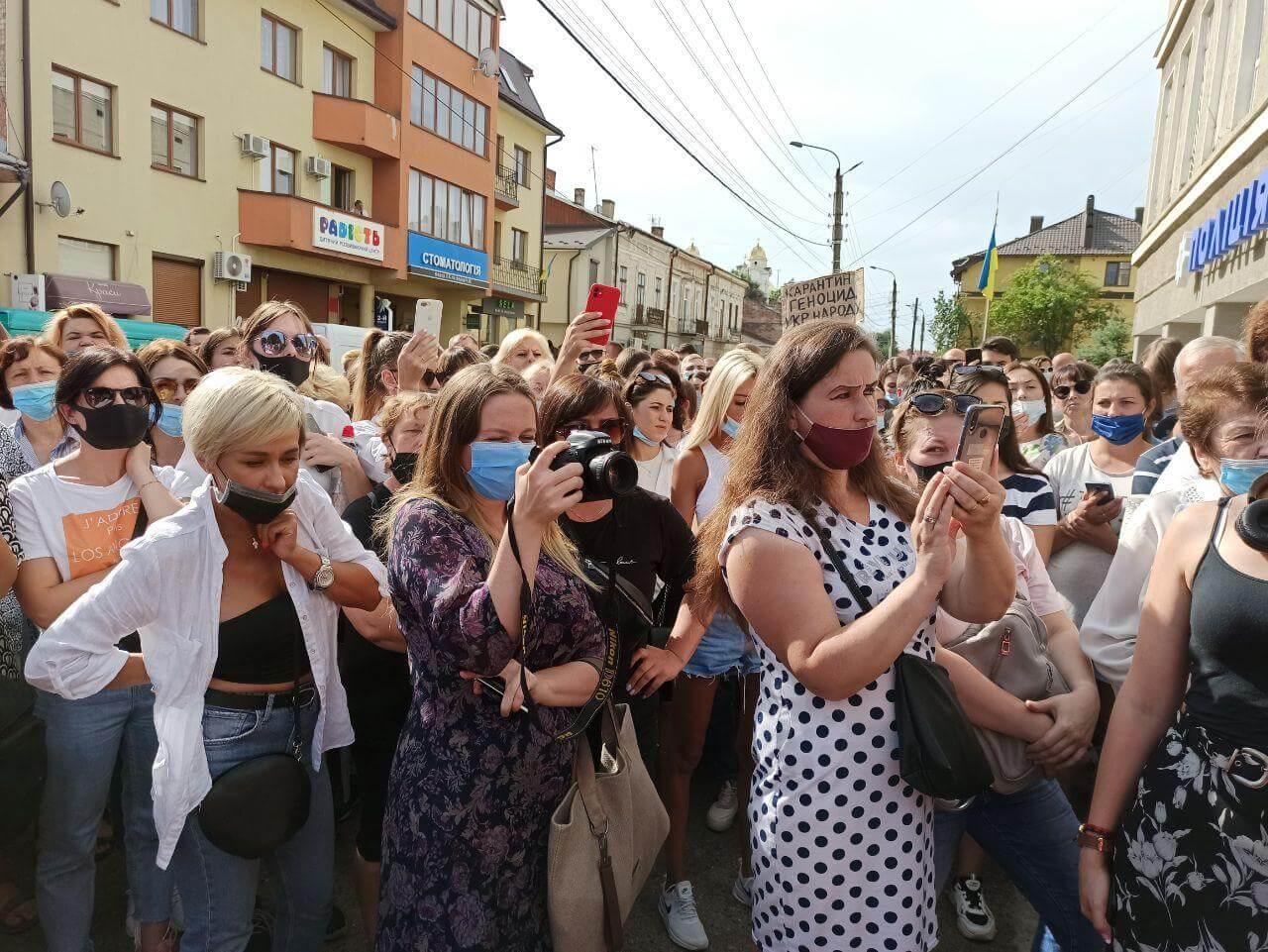У Коломиї відбувся ще один мітинг: які результати цього разу?