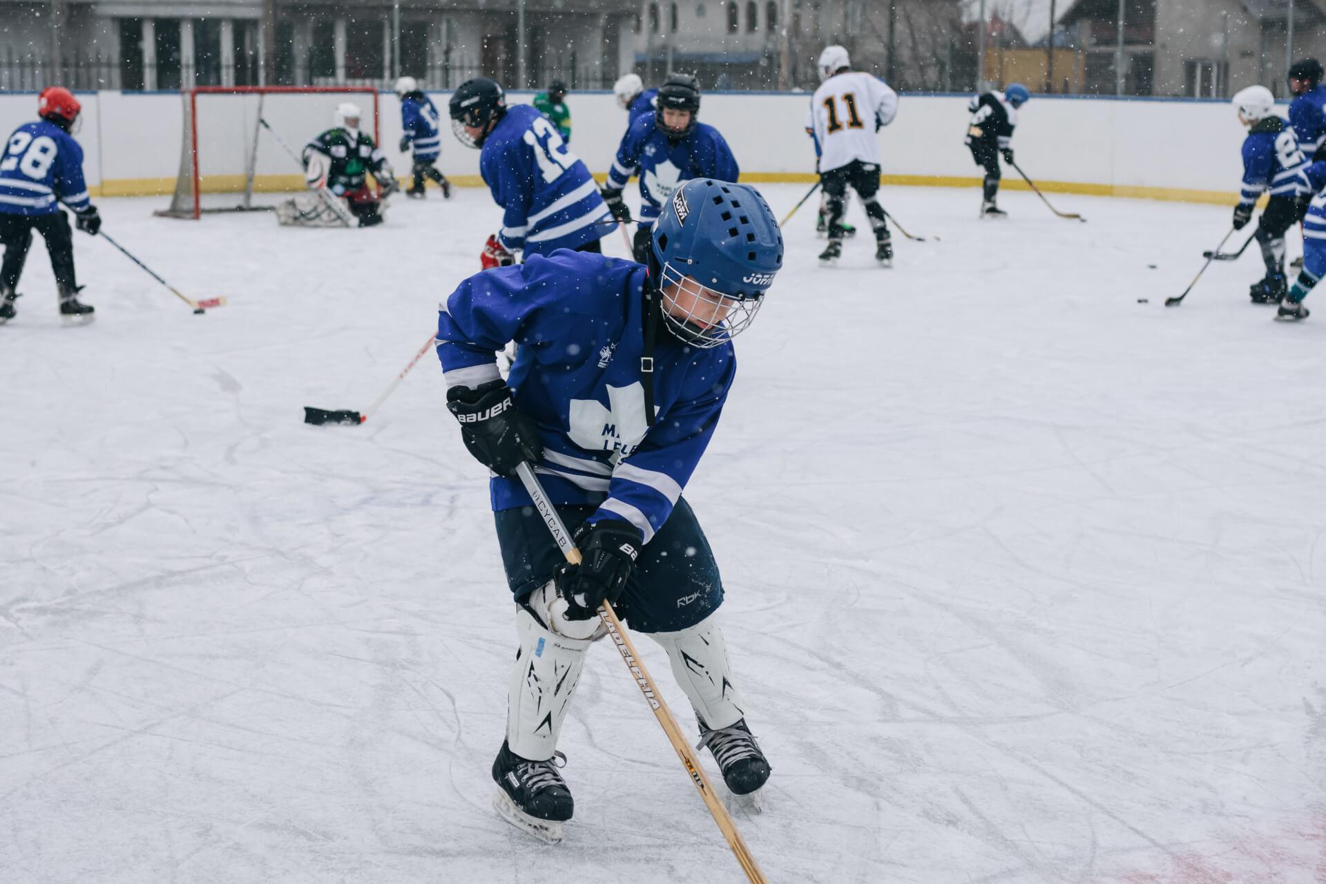 Як працює хокейна секція для дітей у Коломиї