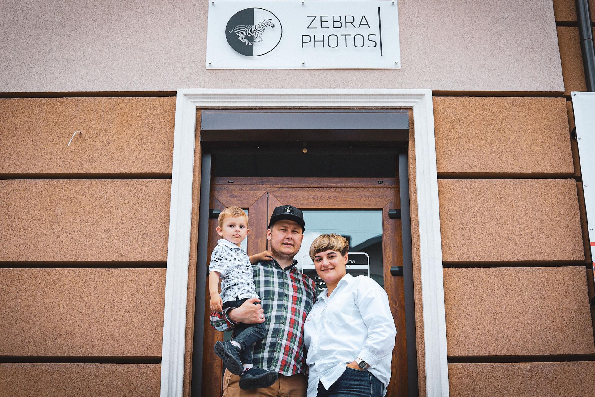 """""""Зебра"""": історія Лященків, які долають чорно-білі смужки життя, розвиваючи сімейну фотостудію"""