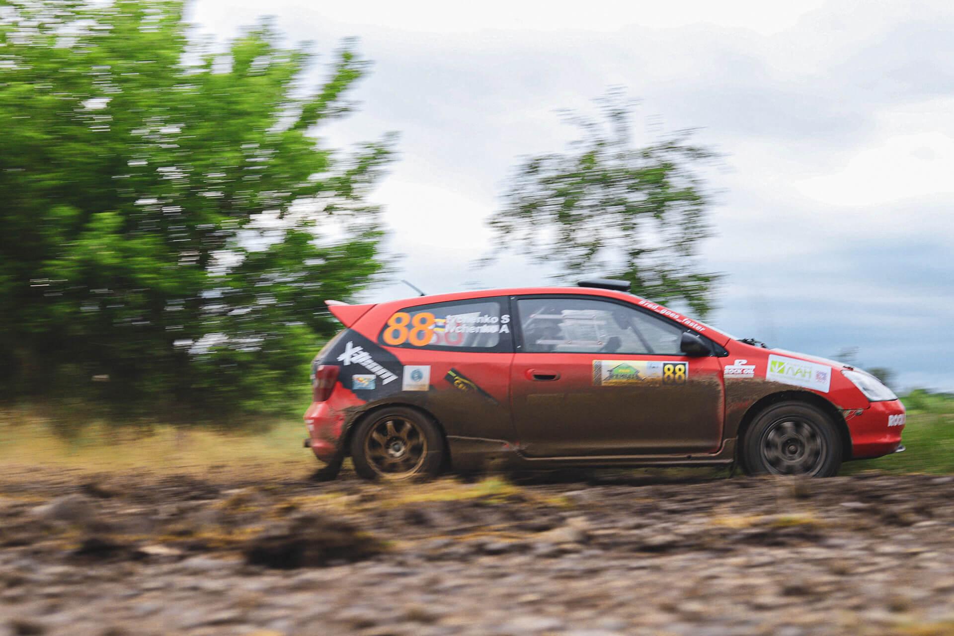 У Коломиї відбувся третій етап Чемпіонату України з ралі. Фоторепортаж