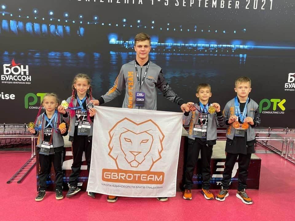 Четверо юних коломиян здобули перемогу на Чемпіонаті України з бразильського джиу-джитсу