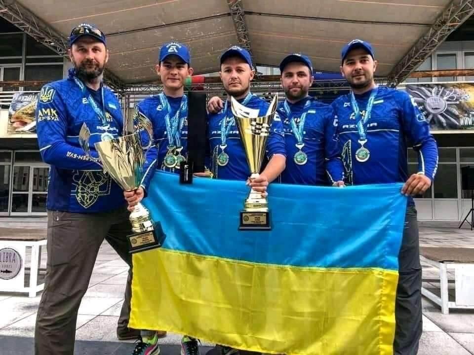 Збірна України, членом якої був коломиянин, стала чемпіоном світу з берегового спінінгу