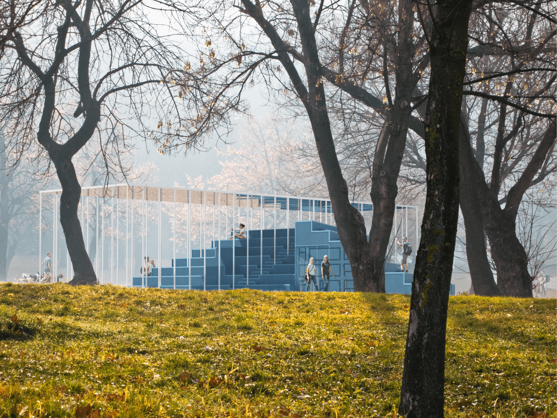 МАФ біля білого дому у Франківську виявився сучасним публічним простором